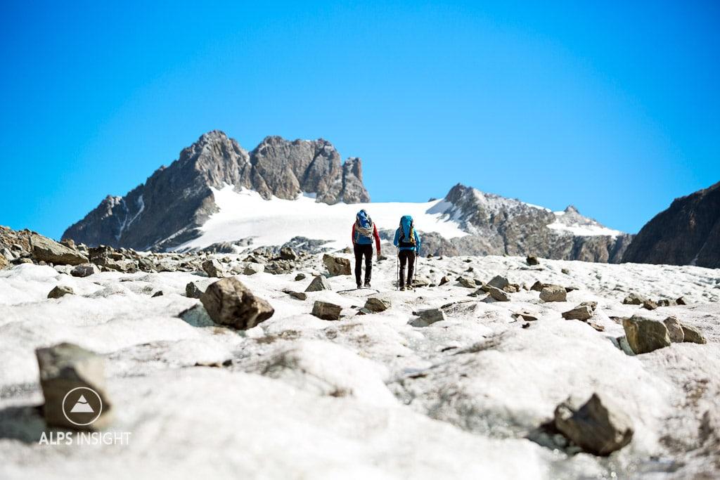 Summer Glacier Haute Route