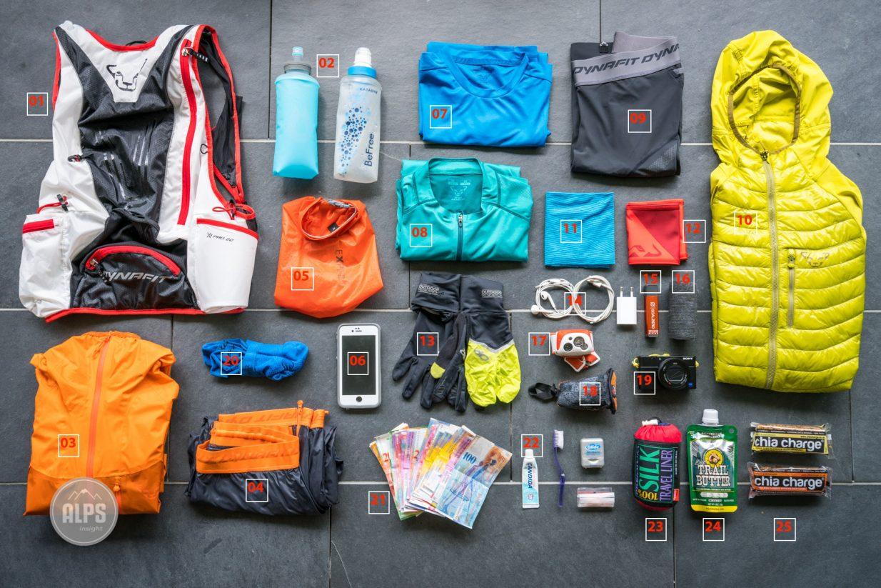 0e7d5f8e17fa Ultralight trail running gear for multi-day running tours