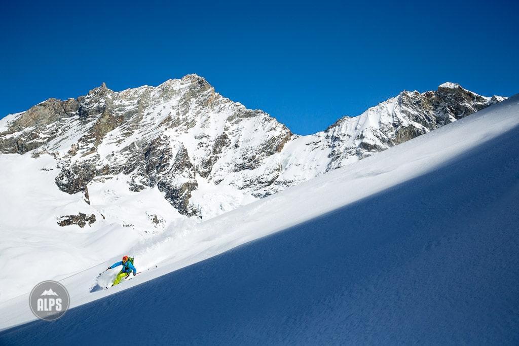 Ski touring Zinal