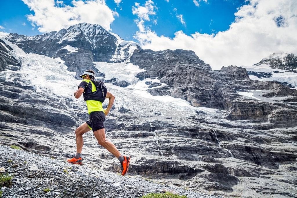 Trail running Grindelwald Lauterbrunnen