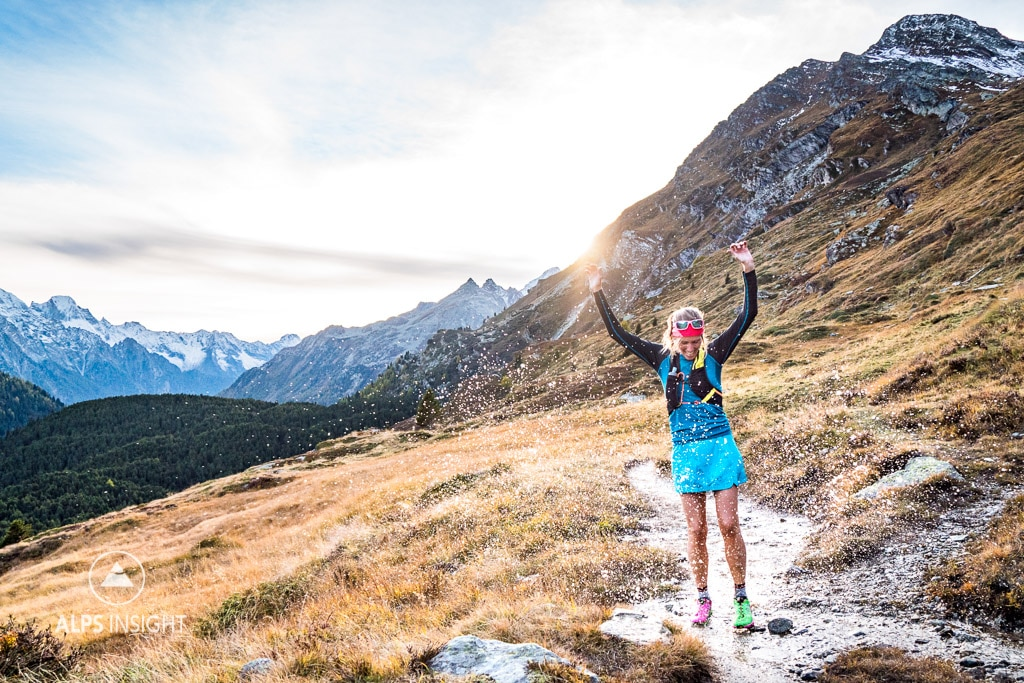 Trail running Engadin