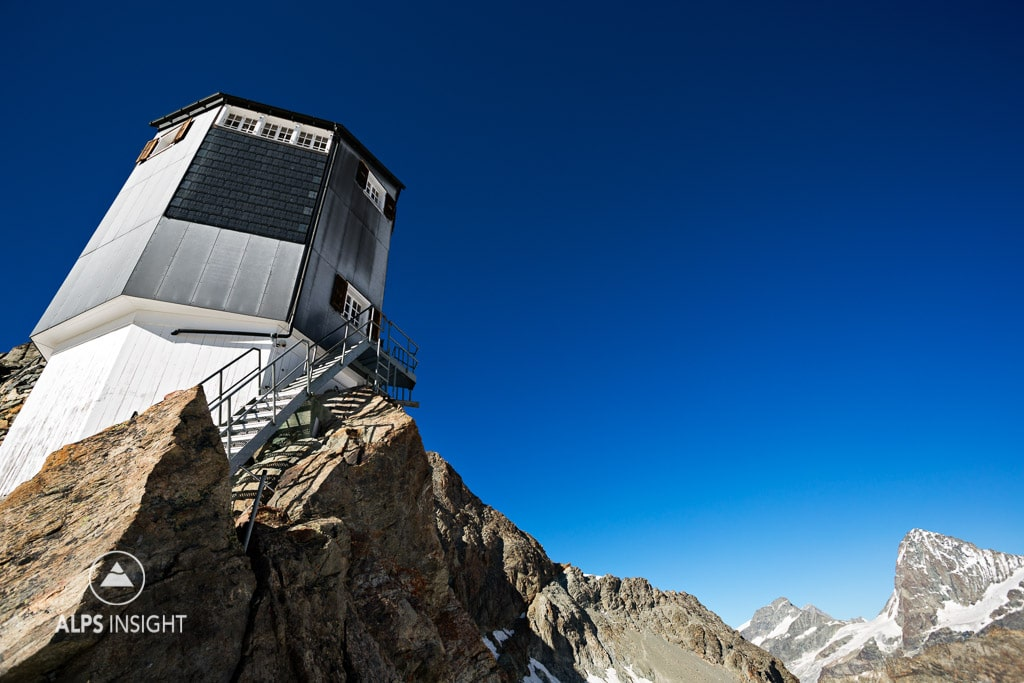 The Bertol Hut, Wallis, Switzerland