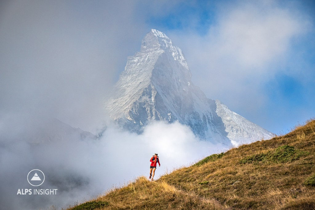 Trail running Via Valais, Zermatt and the Matterhorn