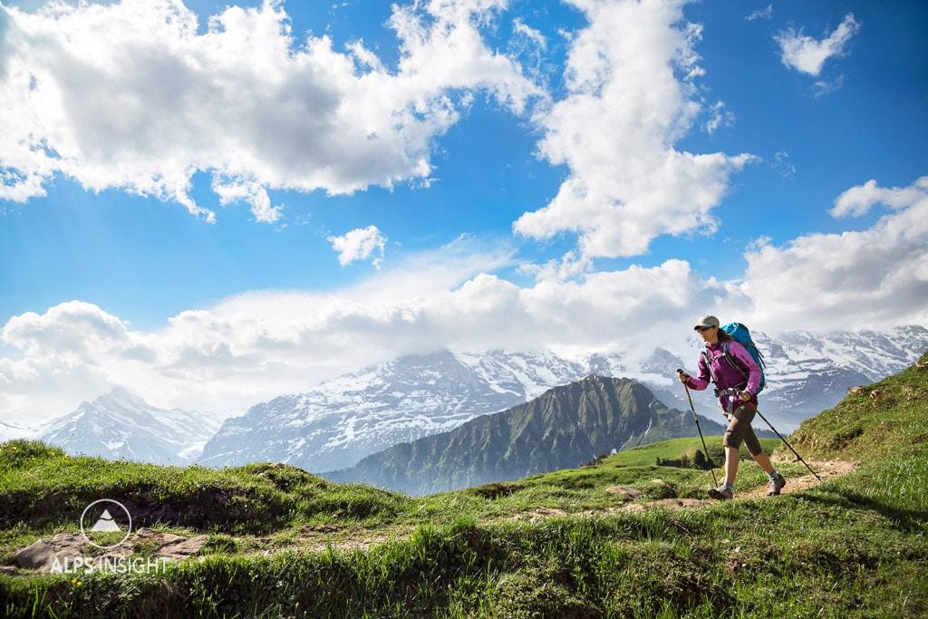 Interlaken to Grindelwald High Route