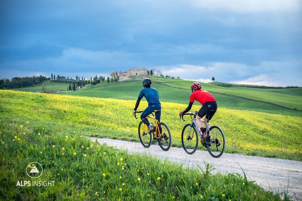 Gravel biking Tuscany